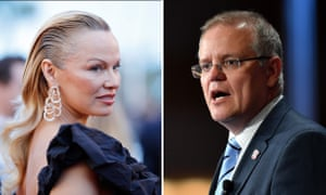 Actress Pamela Anderson says the Australian PM Scott Morrison made 'smutty, unnecessary comments' about her after she asked him to help Julian Assange return home.