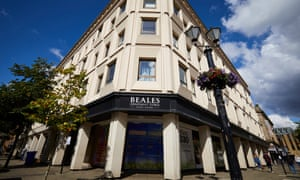 The Beales store in Bolton, which closed in 2017.