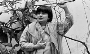 Agnès Varda in Paris in 1986.