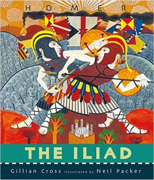 "<a href=""https://bookshop.theguardian.com/catalog/product/view/id/339334/""><strong>The Illiad </strong></a><strong>retold by Gillian Cross, illustrated by Neil Packer </strong>(Walker Books, £17.99)<br>A sumptuous book with stunning illustrations, this retelling by award-winning Gillian Cross keeps the stories simple but the language resonant. While the gods are always near at hand, it is the Greeks and Trojans who are at the forefront of the drama, making this more a story of human strength and frailty than a battle between divinities. The result is both credible and memorable. (9+)"