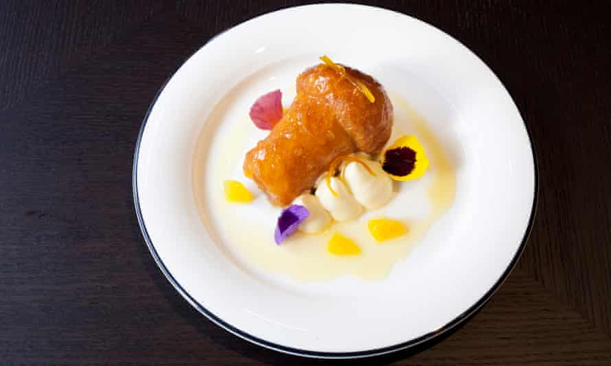 The rum baba at Margot in Covent Garden: a rare example of a brilliant dessert.