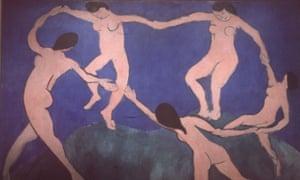 La Danse, Matisse, 1909 (MoMA, New York).