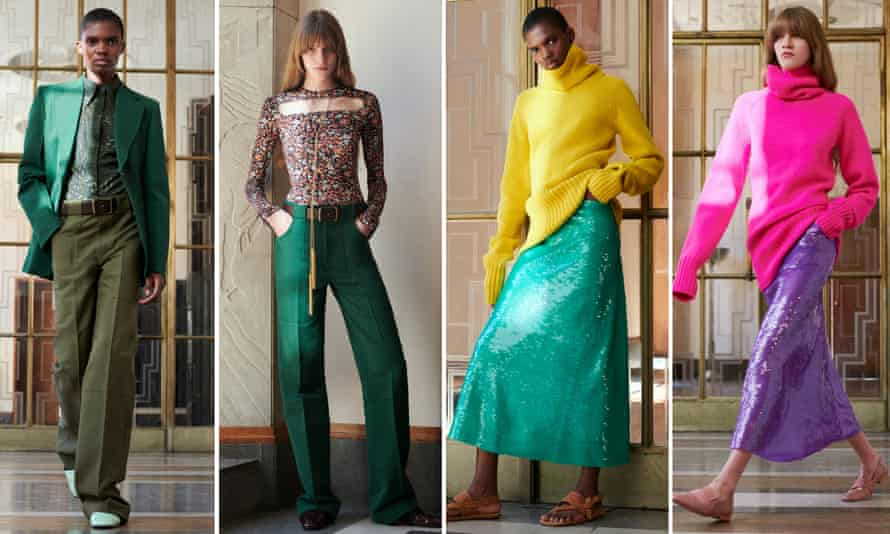 Clothes from Victoria Beckham's SS22 collection