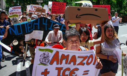 The protests began in seven US cities on Monday, the same day as the company's lucrative Prime Day sale.