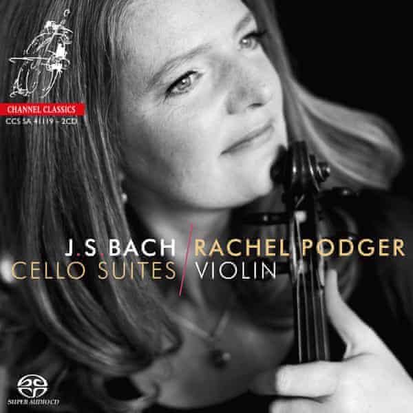 JS Bach: Cello Suites/Rachel Podger album artwork