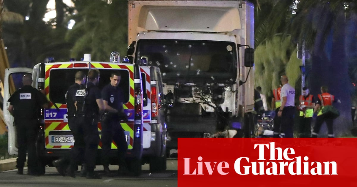 Nice attack: truck driver named as France mourns 84 killed