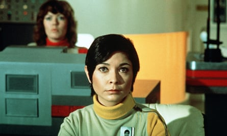 Zienia Merton in Space: 1999, which was set on the moon but filmed at Pinewood Studios in Buckinghamshire.