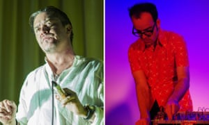 Mike Patton and Anthony Pateras