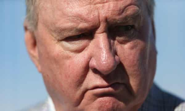 Alan Jones, who was forced to apologise for his remark that Julia Gillard's father had 'died of shame'.
