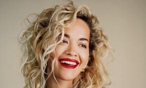 Rita Ora, singer.