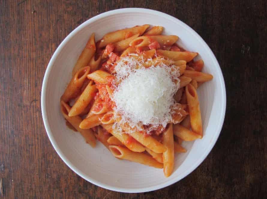 The Art of Pasta's all'arrabbiata.