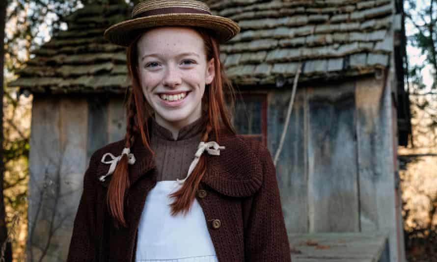 Amybeth McNulty as Anne Shirley on Anne With an E.