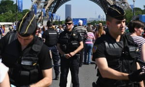 Euro 2016 will be guarded by 90,000 security staff and organisers have promised a twin ring of steel around stadiums to search fans and check tickets.