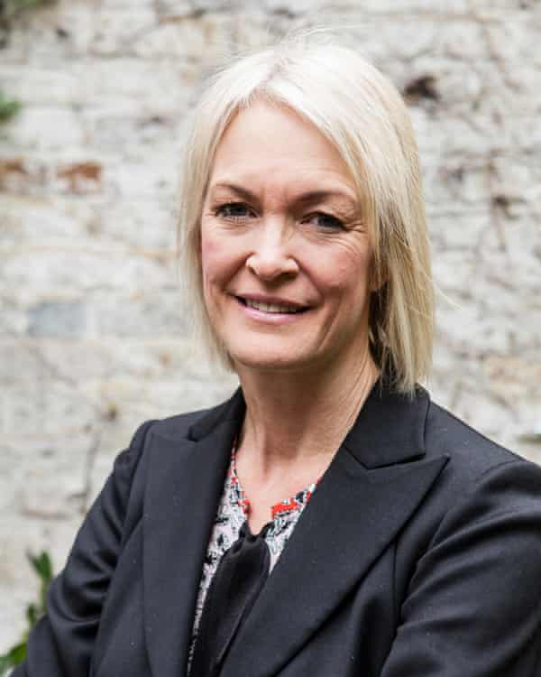 The business minister Margot James