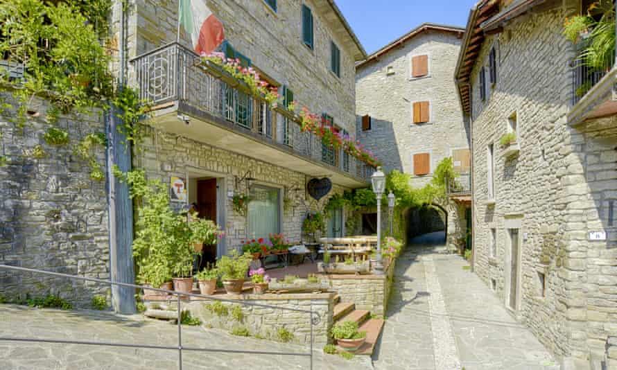 Locanda Senio in Pallazzuolo sul Senio, northern Tuscany