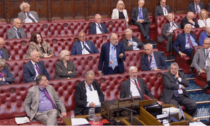Lord Falconer speaking in the Lords debate on a new Leveson inquiry