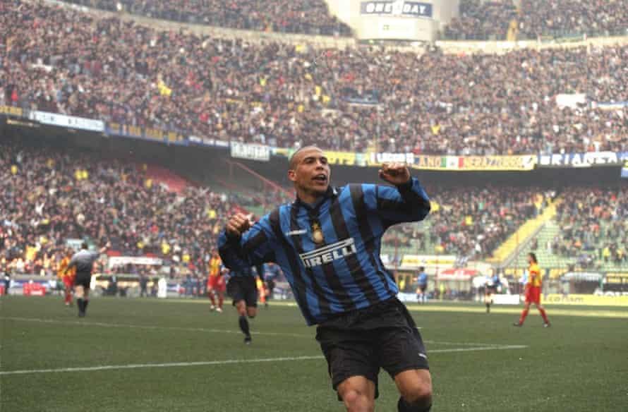 The great Ronaldo in his peak at Inter.