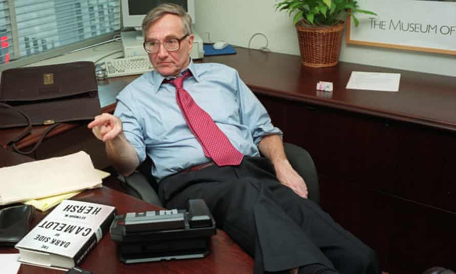 Seymour Hersh in New York, 1997.