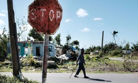Cordington, Barbuda. The island spans 62 sq miles.