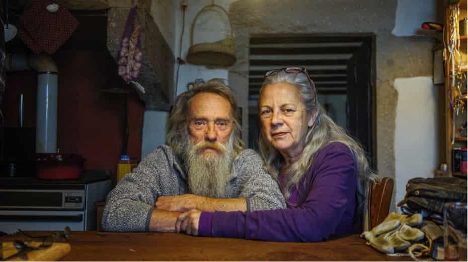 Talking about love: Duke van Egmond, 59, and Annemiek Couwenbergh, 62.