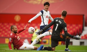 Son Heung-min scores Tottenham's second goal