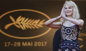 Nicole Kidman … the queen of Cannes and likely Oscar contender