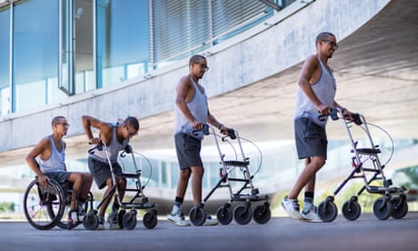 Paralysed men can stand and walk after electrical stimulation