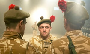 'I made a joke that everyone had to stop talking about it' … Black Watch.