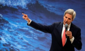 This is John Kerry talking at the Climate Change Conference (COP25) in Madrid, Spain, in 2019, as leaders voiced concerns about oceans warming, weather patterns being disrupted and other problems related to the climate crisis.