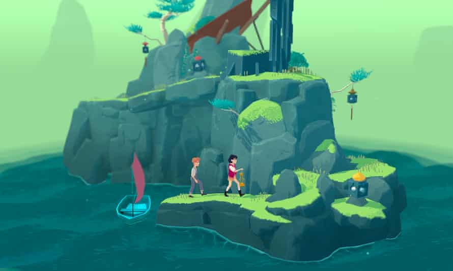 Surreal puzzle game The Gardens Between features a realistic depiction of 12-year-old female protagonist Arina and her best friend Frendt.