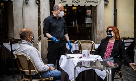'I can taste the flavour much more': Italians rediscover eating out