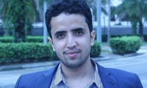 25-year-old Yemeni man Sadeq Abdullah Saleh al-Guraizea