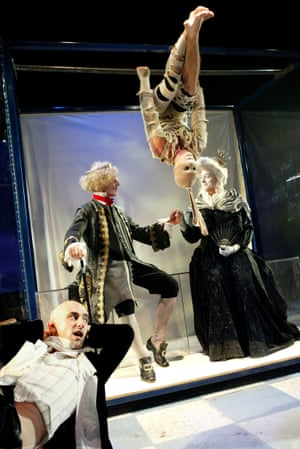 Stephen Noonan (left) in Hamlet at Southampton's Nuffield theatre in 2003