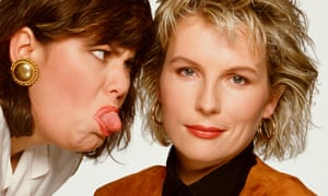Dawn French and Jennifer Saunders in 1990