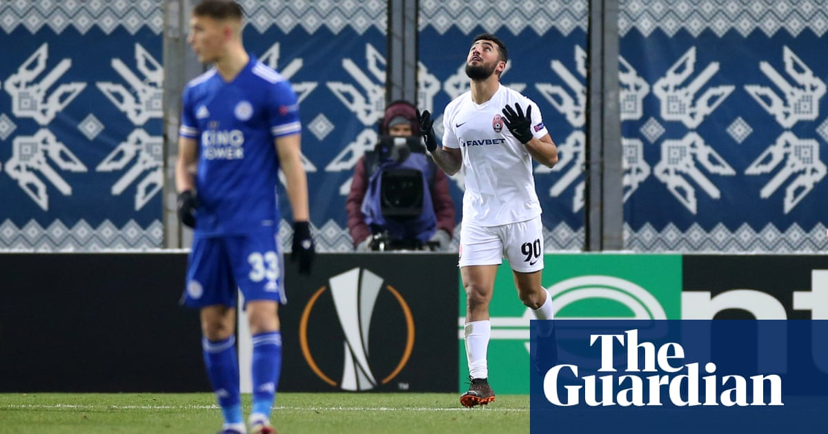 Soyuncus return cut short as Leicester caught napping by Zoryas late winner