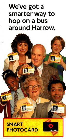 Poster of Harrow smartcard