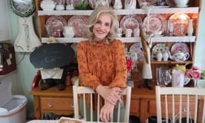 Author and homemaker, Dixie Andelin Forsyth poses in her kitchen in Unreported World.