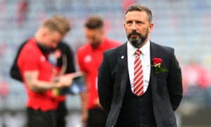 Aberdeen's manager Derek McInnes, pictured at last season's Scottish Cup final, has decided not to take the job at Sunderland.