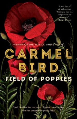 Cover image for Field of Poppies by Carmel Bird