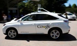 A Google self-driving vehicle