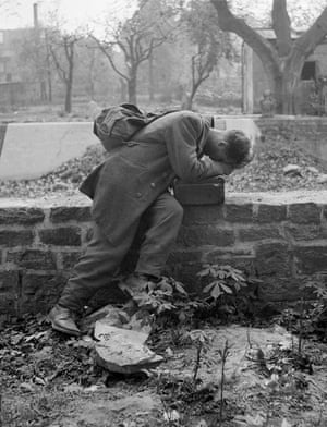 Defeated soldier, 1947
