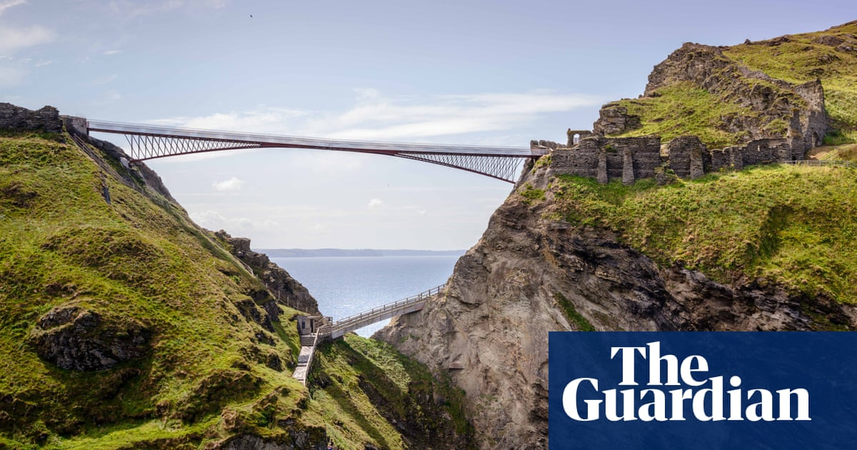 Gossamer gateway to Avalon: Tintagel Castle bridge brings magic to history