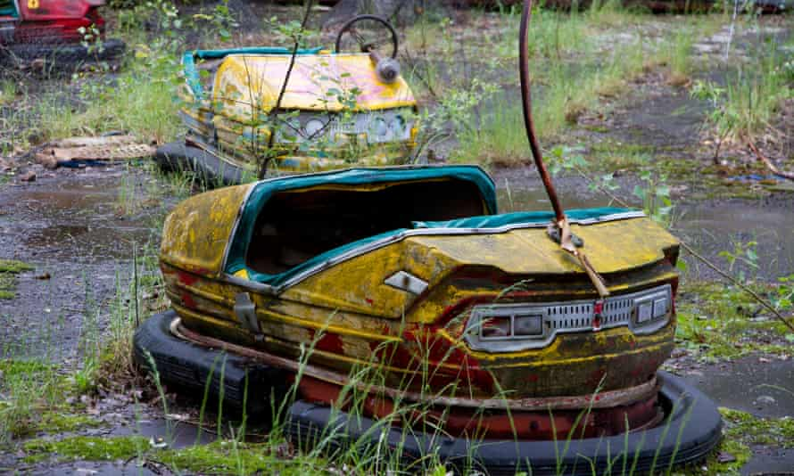 End game … an abandoned theme park in Pripyat, inside the Chernobyl exclusion zone.