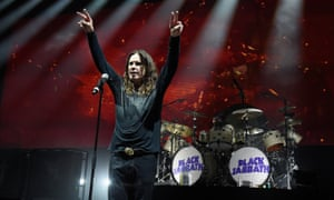 """Ozzy Osbourne of Black Sabbath performs onstage on """"The End Tour"""" at Nikon at Jones Beach Theater on August 17, 2016 in Wantagh, New York."""
