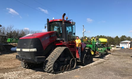 Farmer and technician Kyle Schwarting from Ceresco, Nebraska wants the right to fix his own hi-tech farm equipment.