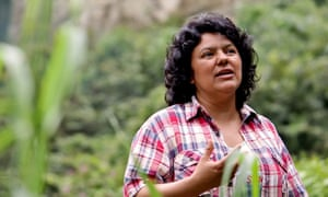 Berta Cáceres was killed two days before her 45th birthday.