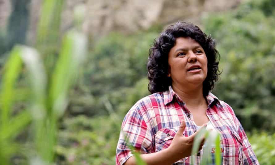 Honduran activist Berta Cáceres