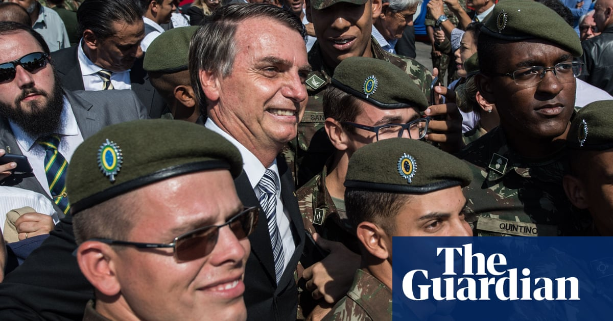 Brazil's Jair Bolsonaro says he would put army on streets to fight crime