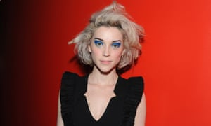 Rock horror picture show ... the singer St Vincent is set to make her own scary movie.