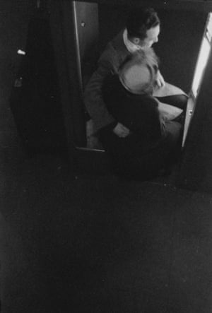 At the Photo Booth by Saul Leiter (1940s)